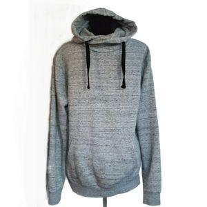H&M Sweatshirt Hoodie  Light Grey Pull Over